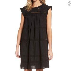 Current Elliott babydoll linen dress